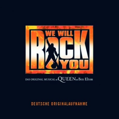 CD WE WILL ROCK YOU - Original Germany Cast 2005