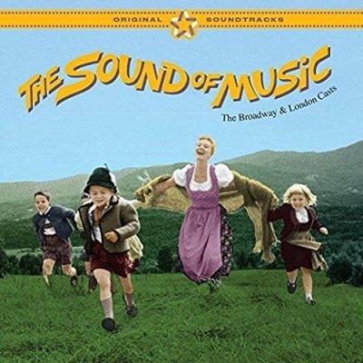 CD THE SOUND OF MUSIC - Original Broadway Cast 1959 & London Cast 1961