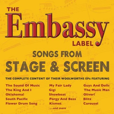 CD The Embassy Label - Songs From Stage And Screen