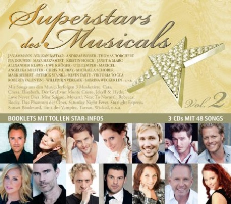 Bildergebnis für superstars des musicals vol. 2