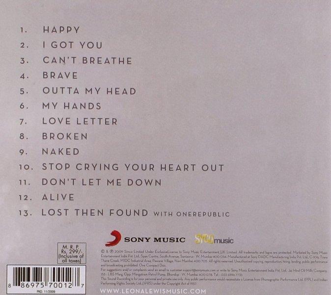 CD Leona Lewis - Echo
