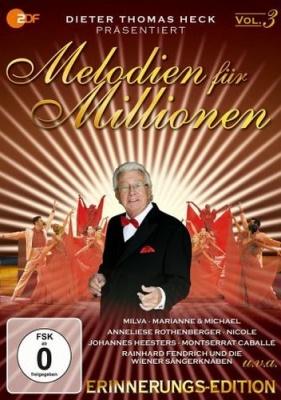 Dvd Melodien Fur Millionen Vol 3 Rc 2 Musical Cds Dvds Soundofmusic Shop