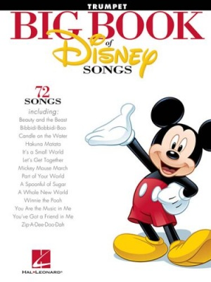 Sheet Music BIG BOOK OF DISNEY SONGS (TRUMPET)