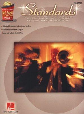 Sheet music + Playback-CD BIG BAND PLAY-ALONG VOLUME 7: Standards - Trombone