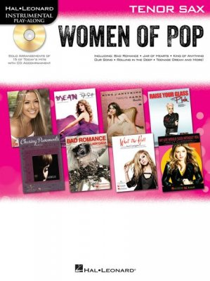 Sheet music + Playback-CD TODAY'S WOMEN OF POP (Tenor Sax)