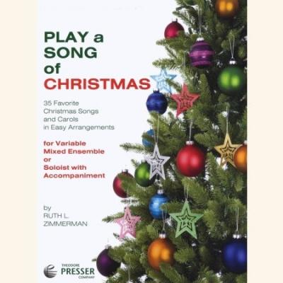 Sheet music PLAY A SONG OF CHRISTMAS (Alto-Saxophone)