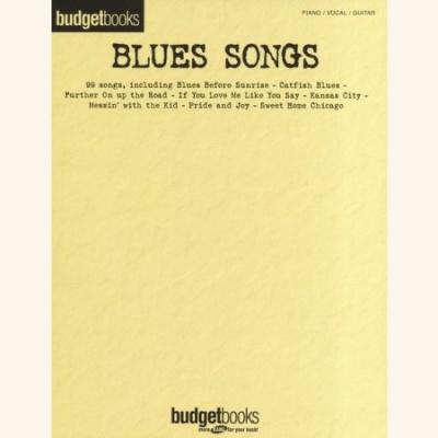 Sheet music BUDGET BOOKS: BLUE SONGS (PVG)