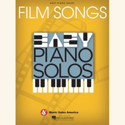 Sheet music FILM SONGS - EASY PIANO SOLOS