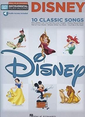 Sheet music + Download-Playbacks DISNEY - 10 CLASSIC SONGS (Flute)