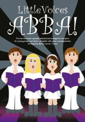 Sheet Music + Download-Playbacks LITTLE VOICES - ABBA! (2-PART CHOIR)