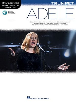 Sheet music + Download-Playbacks ADELE (Instrumental Play-Along For Trumpet)