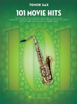 Sheet music 101 Movie Hits (Tenor Saxophone)