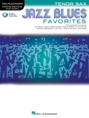Sheet music + Download-Playbacks JAZZ BLUES FAVORITES (Tenor Saxophone)