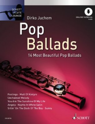 Sheet music + Playback-CD POP BALLADS (Flute)