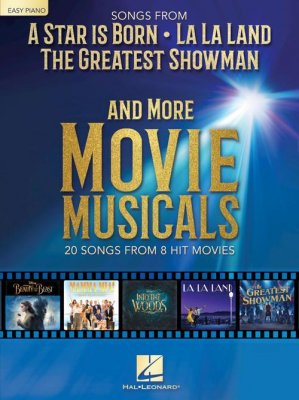 Sheet music SONGS FROM A STAR IS BORN AND MORE MOVIE MUSICALS (Easy Piano)