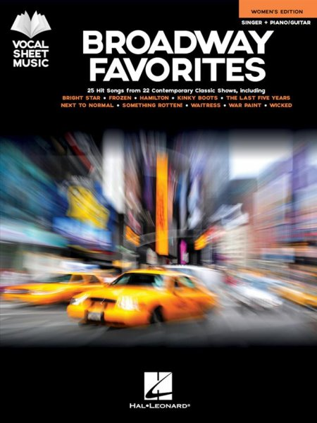 Sheet music BROADWAY FAVORITES - WOMEN'S EDITION