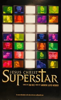 huge selection of 16b96 eb7c7 Poster JESUS CHRIST SUPERSTAR - US-Tour-Produktion