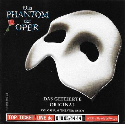 Aufkleber Das Phantom Der Oper